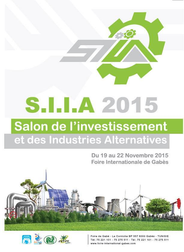 SALON DE L'INVESTISSEMENT ET DES INDUSTRIES ALTERNATIVES, S.I.I.A 2015.
